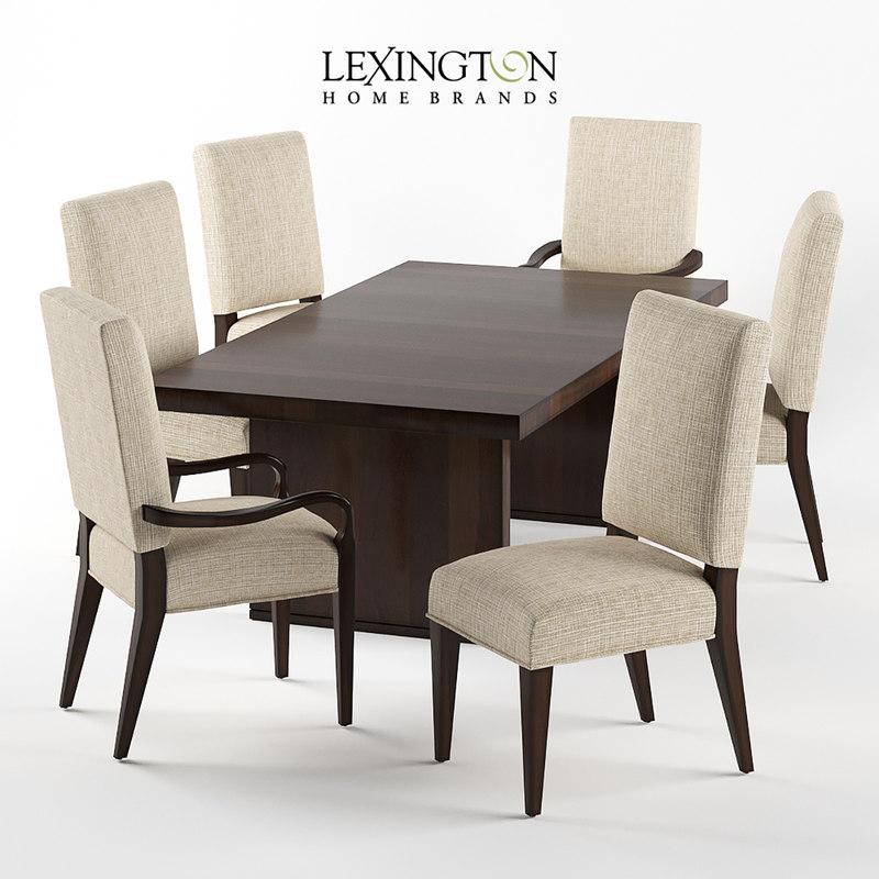 sierra chair table 3d model