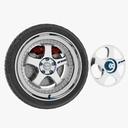 car wheel 3D models