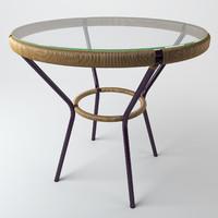 3d table rattan