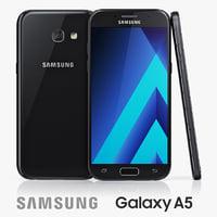 3d model samsung galaxy a5 2017