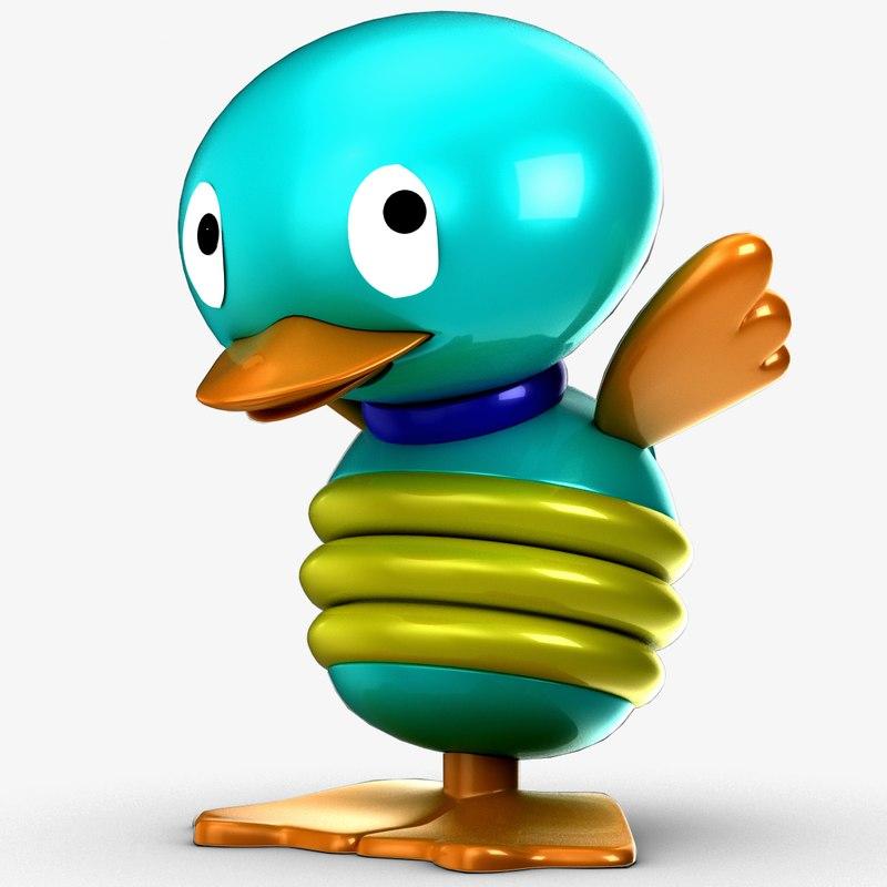 tolo toy bird 3d model