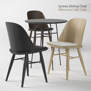 synnes chair dining 3d max
