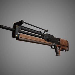 3d max sniper rifle