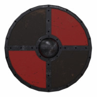 Buckler Shield Low Poly