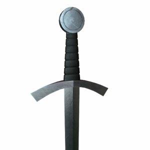 obj sword modeled