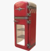 fbx vintage refrigerator