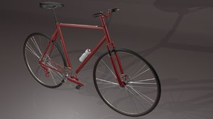 3d model bicycle gears