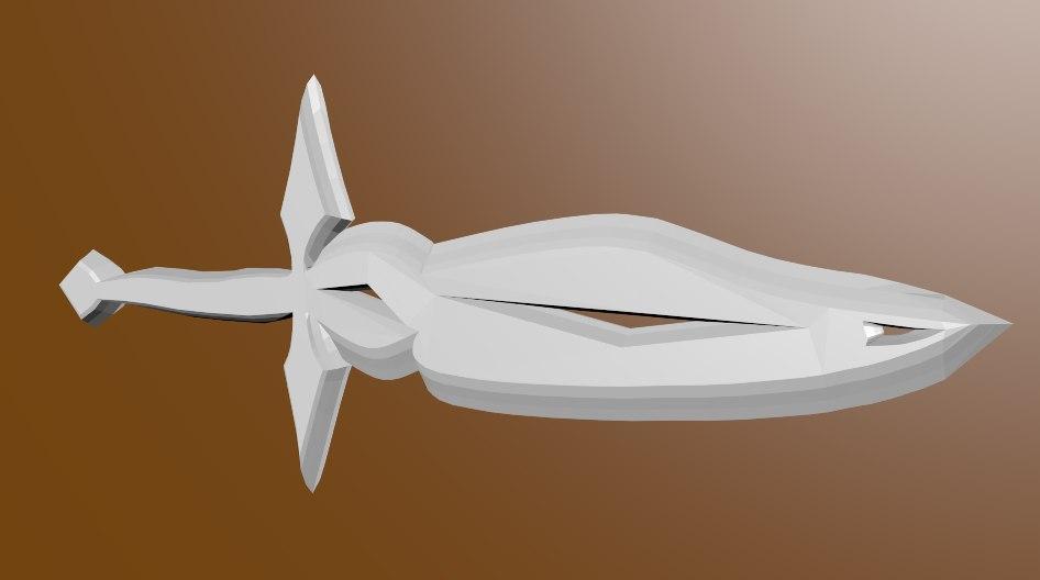 obj fantasy sword