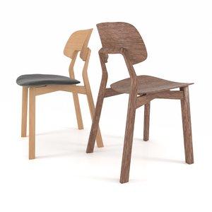 3d max zeitraum nonoto chair