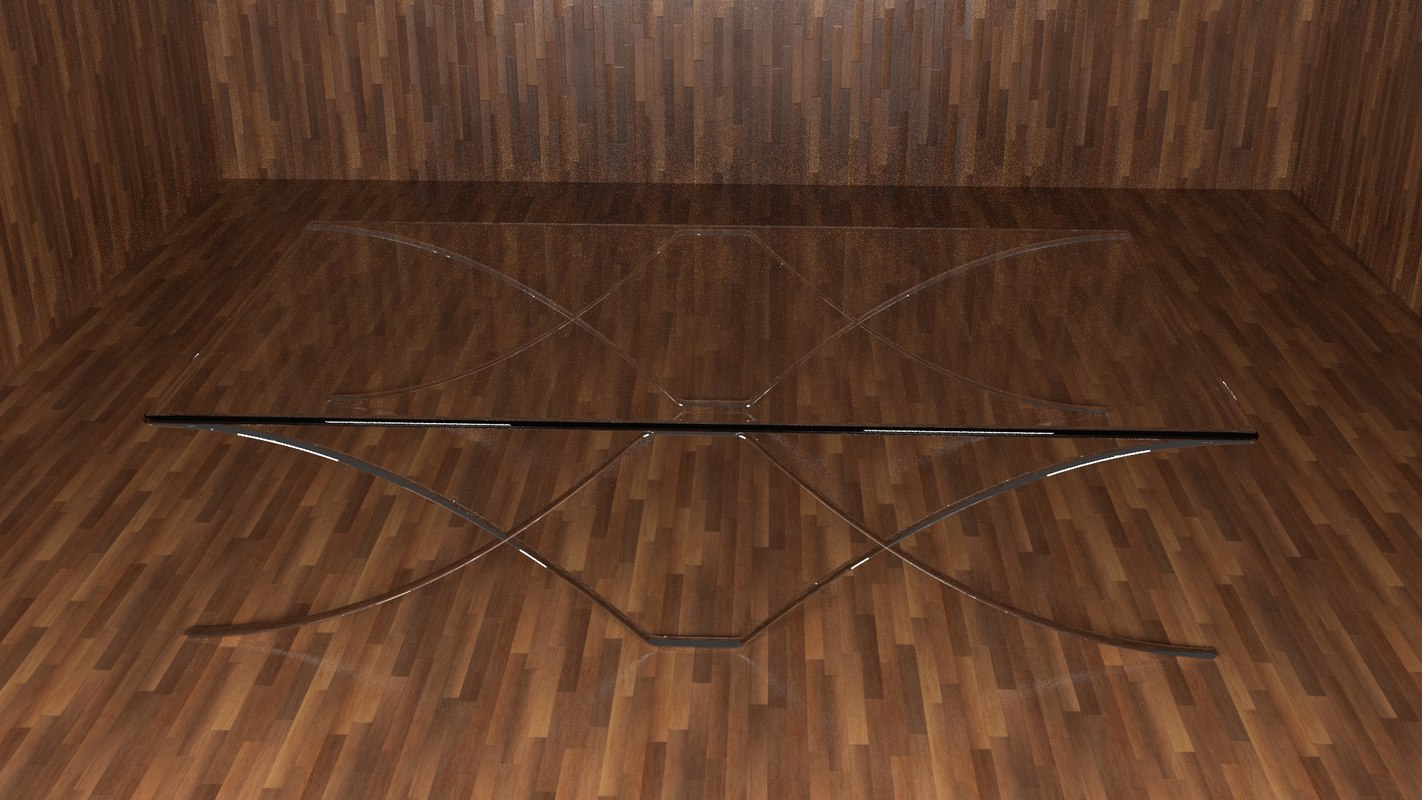 3ds glass table