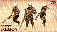 Cowboy Skeleton