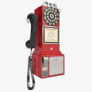 3d payphone phone