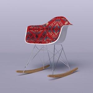 octane eames arm chair obj
