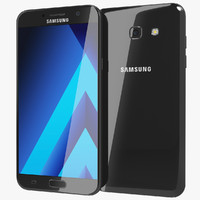 realistic samsung galaxy a7 3d model