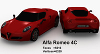alpha romeo 4c 3ds