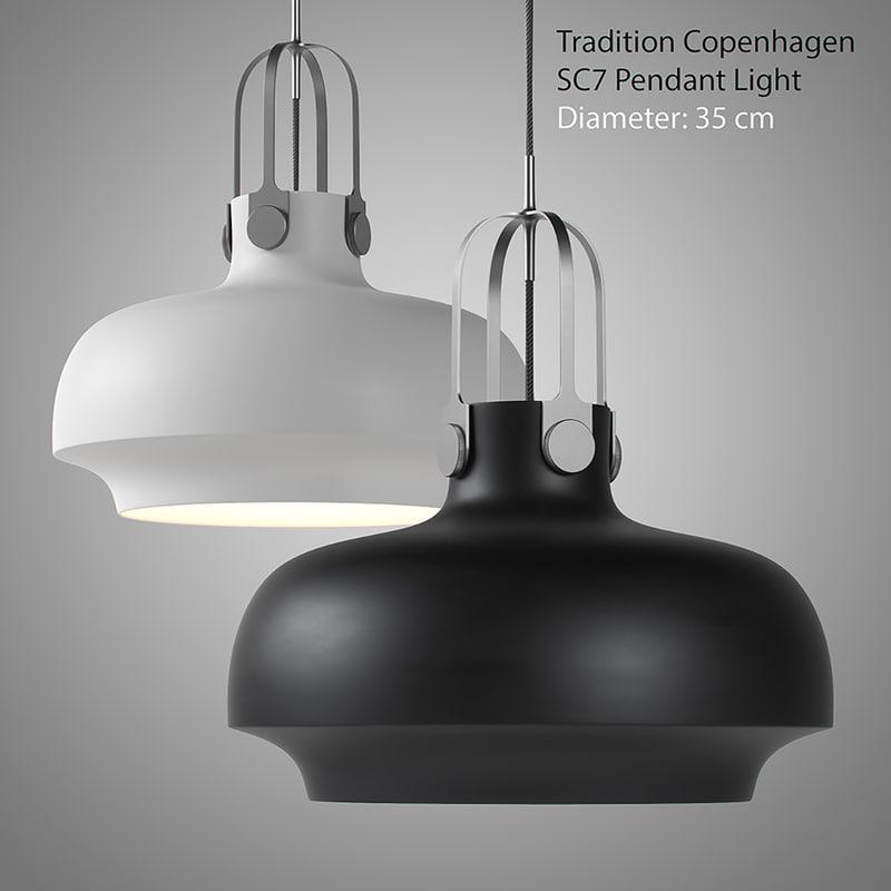 copenhagen pendant light max