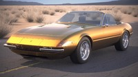 3d ferrari daytona spider model