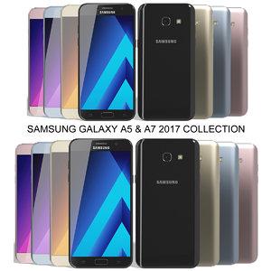 3d realistic samsung galaxy a5