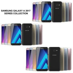 3d model realistic samsung galaxy 2017