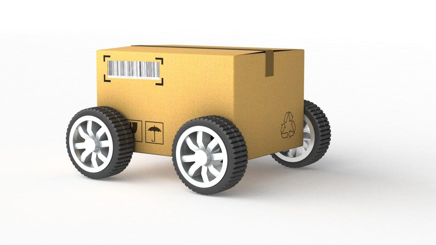 card box wheels max