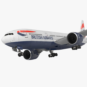 boeing 777 200er british airways max