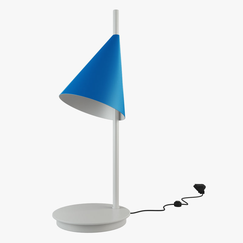 cone table lamp max