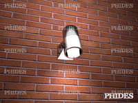 3d spotlight lights model