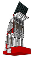 Chartres Cathedral Cutaway
