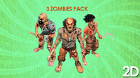 3 Zombies Pack