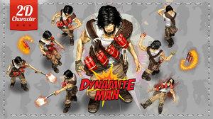 2D Dynamite Man