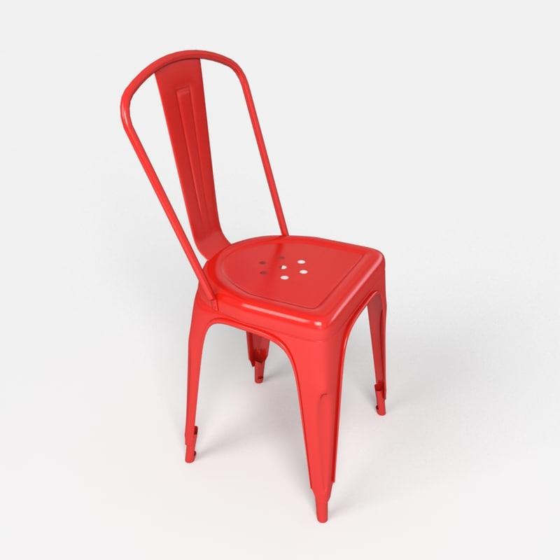 xavier pauchards tolix chair 3d max