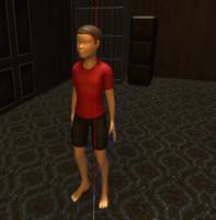 Child 3D model fbx