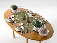 max table setting