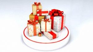 christmas gifts obj