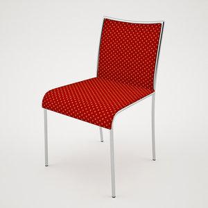 3d model banquet chair 6