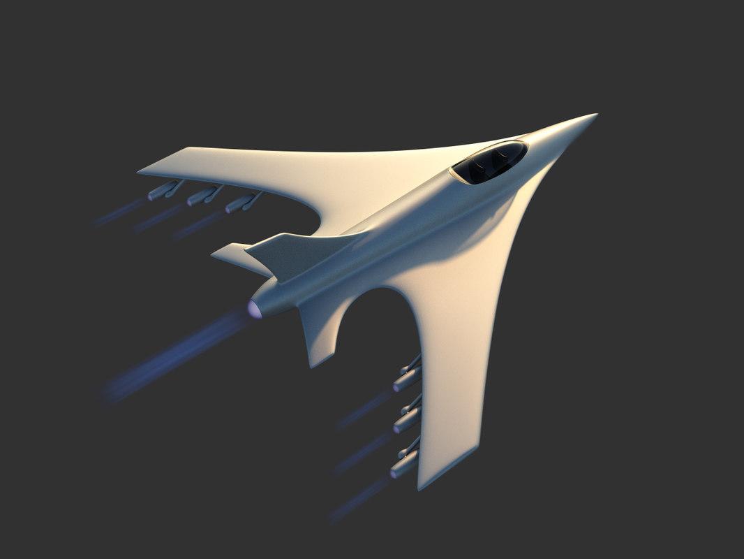 aircraft engines 3d obj