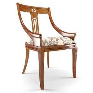 3d puccini ciliegio chair