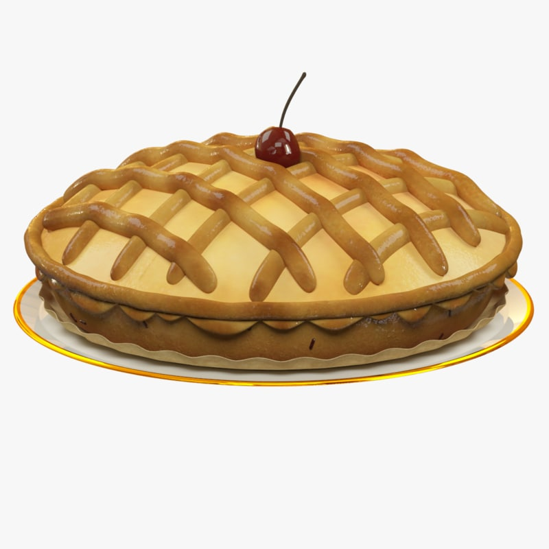3d pie home homemade model