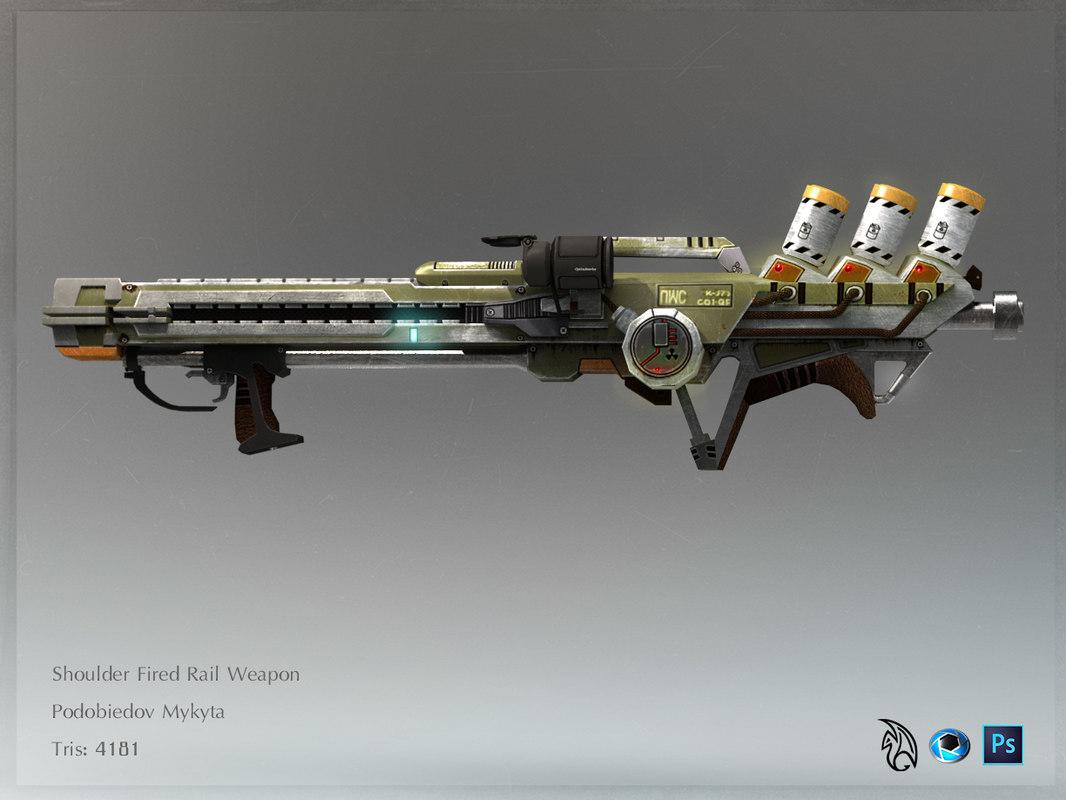 ma sholder rail weapon