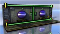 Sci-Fi Wall Floor