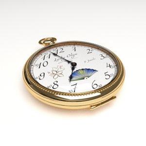 fbx pocket watch lady olga