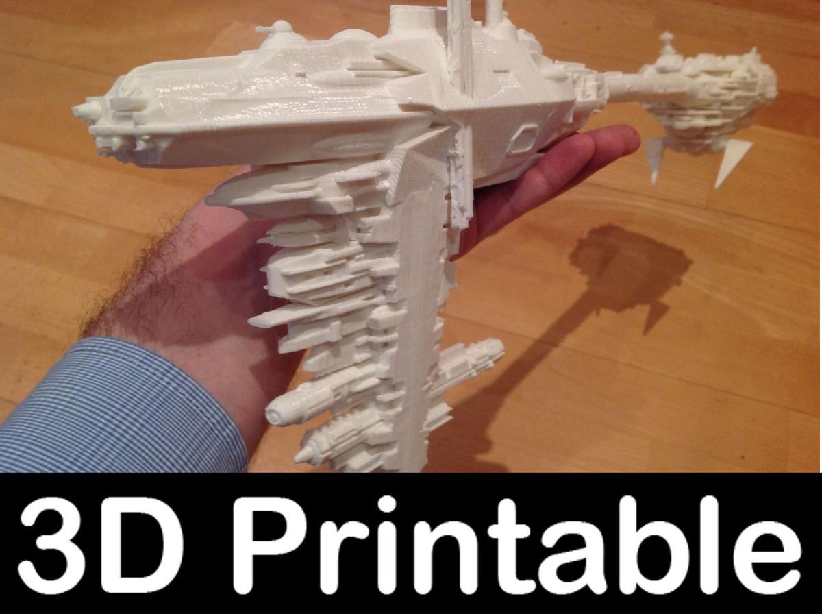 3ds printable kit - nebulon
