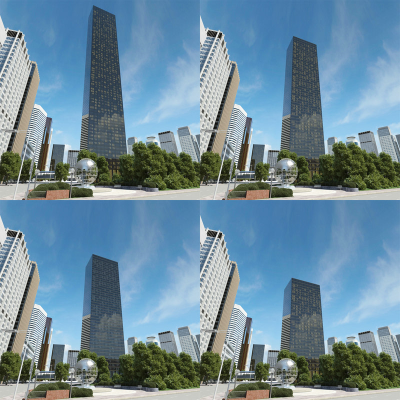 3d trump world tower