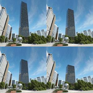 3d trump world tower