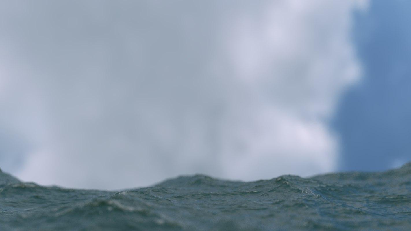 3ds max ocean