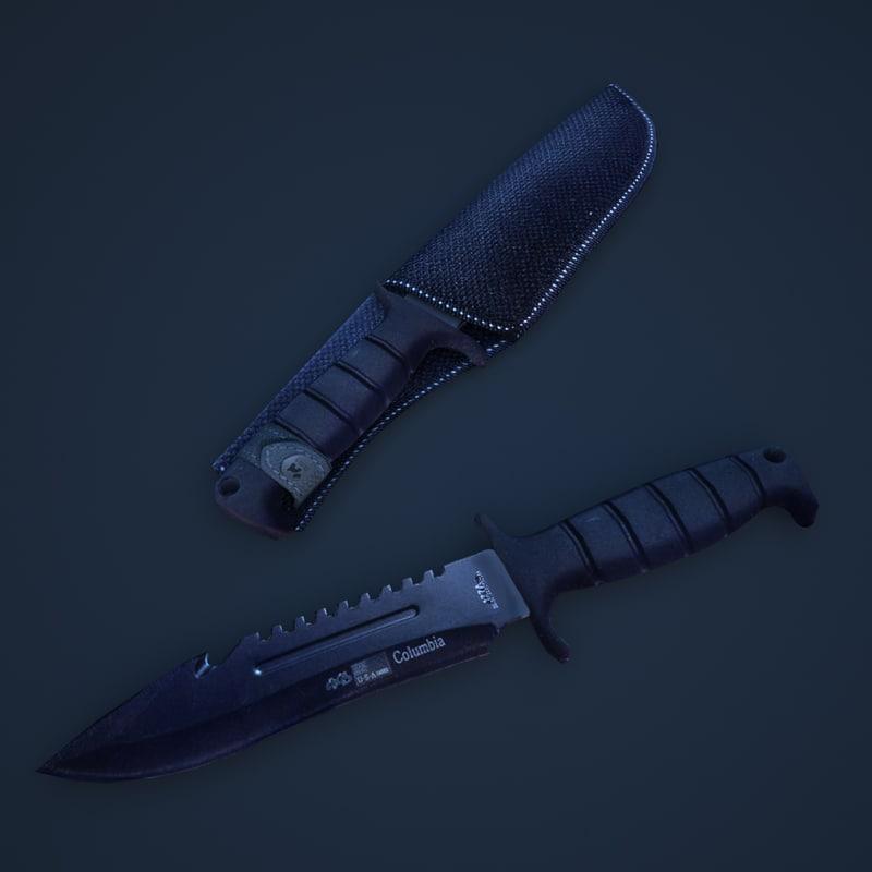 knife 3d max