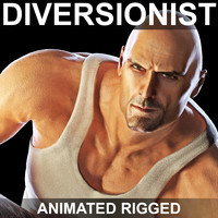 Diversionist (Animated Rigged)