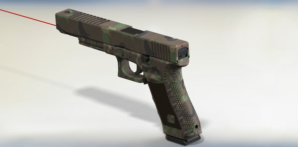 glock 17 pistols 3ds