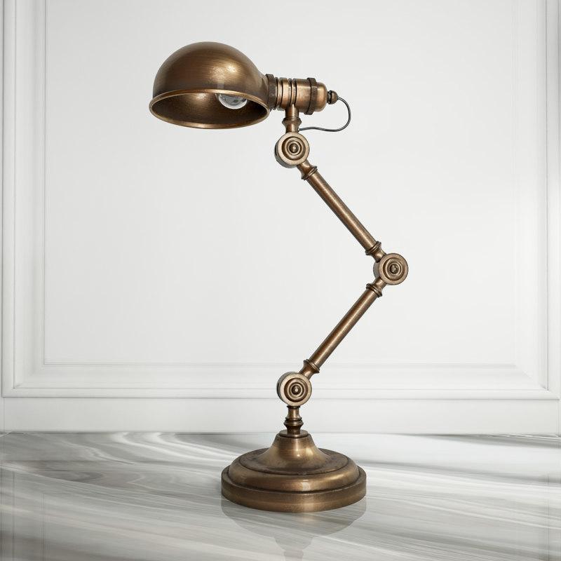 concept table lamp 3d model