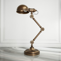 LOFT CONCEPT TABLE LAMP BRASS STEAMPUNK
